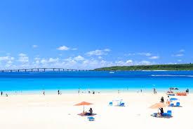 来間島近くのビーチ